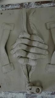 Arcilla Greda (2 Kilos) Profesional Para Esculturas )