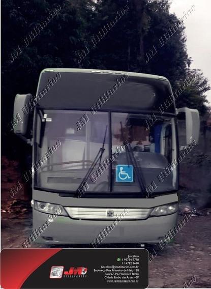 Busscar Hi Ano 2001 M.benz O400rsd 46 LG Completo Jm Cod.218