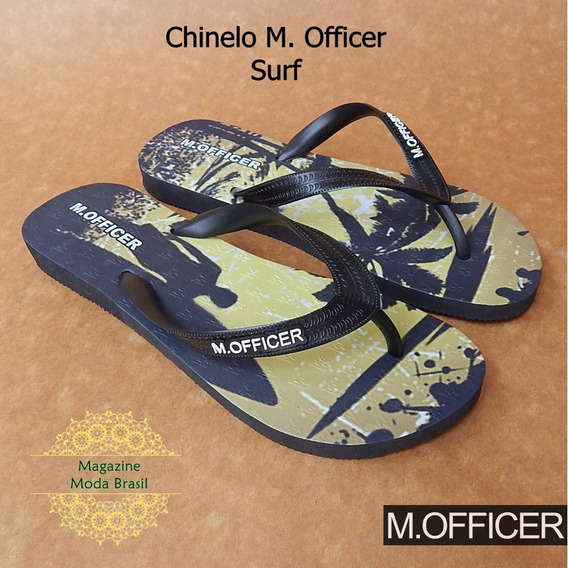 Chinelo Masculino M. Officer - Modelo Surf