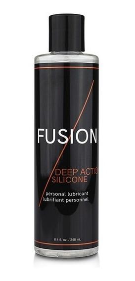 Lubricante Fusion Deep Action Silicone 8.4 Oz..