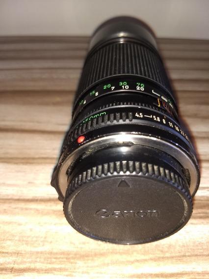 Lente Canon Tele Objetiva Fd 70-150mm