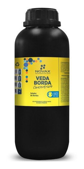 Veda Borda Concentrado Selador Borda Italiana 900ml + Pincel