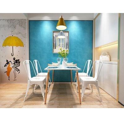 4 Pc Moderno Home Cocina Sin Brazos Silla Comedor Silla-9800