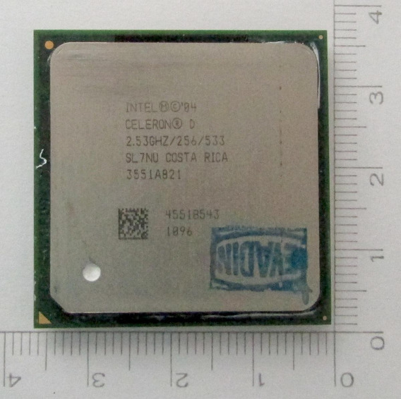 Processador Intel Celeron D 2,53 Ghz /256/533 Socket 478