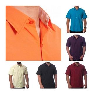 Kit Com 20 Camisas Sociais Masculinas Atacado Revenda