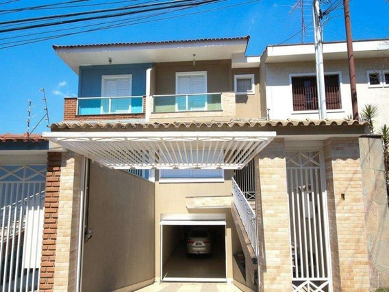 Sobrado A Venda No Jd São Paulo, Localização Privilegiada, 3 Suítes E 7 Vagas De Garagem - Ca01479 - 33735677