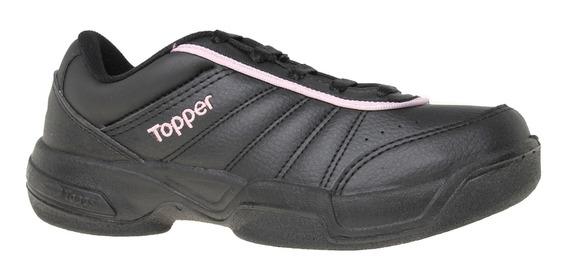 Zapatillas Topper C Tennis Lady Tie Break Iii Mujer Ng/rv