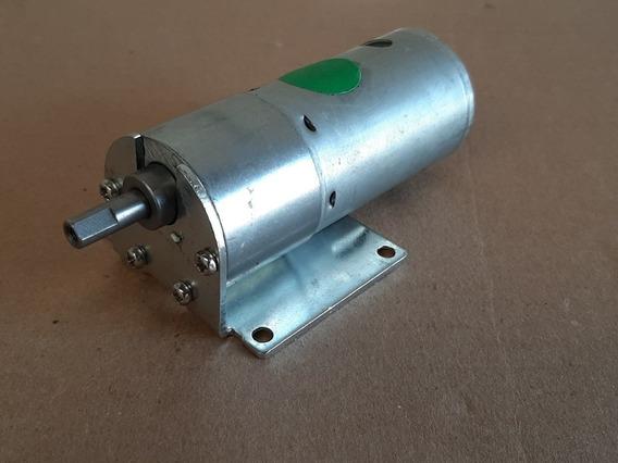 Motor 12v Com Caixa De Engrenagem Para Robotica /projetos
