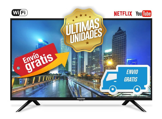 Smart Tv Panavox 32 Wifi, Youtube, Netflix - Envió Gratis