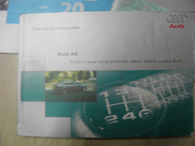Manual Proprietário Audi A6 2000 Completo