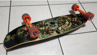 Skate Longboard Mini Em Ótimo Estado Usado 5x