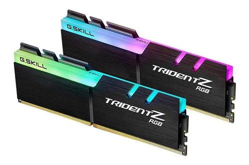 Imagem 1 de 2 de Memória RAM Trident Z RGB (For AMD)  16GB 2x8GB G.Skill F4-3200C14D-16GTZRX