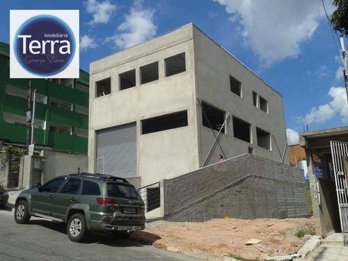 Galpão À Venda, 433 M² Por R$ 1.100.000,00 - Parque Alexandre - Cotia/sp - Ga0165