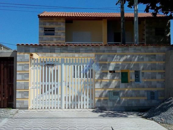 Sobrado Com 3 Dorms, Mongaguá