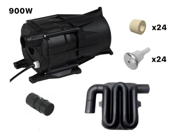Air Blower - Kit 900w/220v Simples 24 Bico