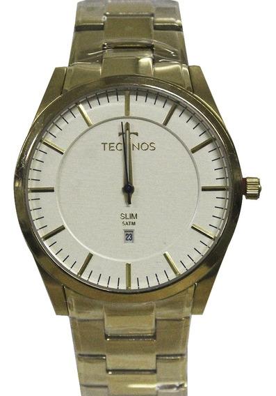 Relógio Masculino Technos Gm10yf/4x Dourado