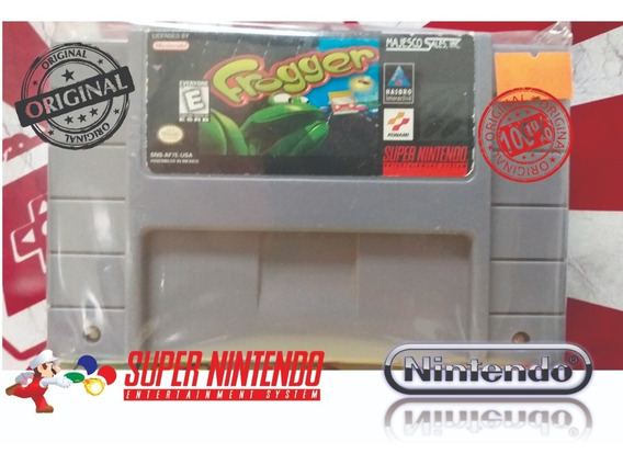 Frogger Original Snes Super Nintendo