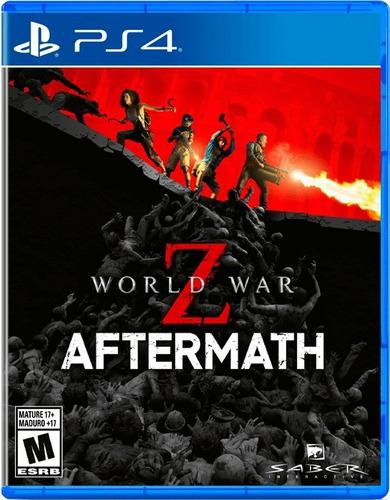 Imagen 1 de 2 de World War Z Aftermatch Ps4 Fisico Sellado Original Ade Ramos