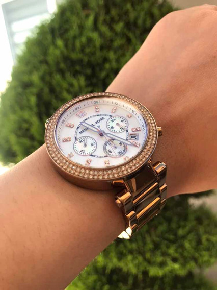 [pash Bazar] Reloj Michael Kors Dama Rose Oro Rosa Mk5491
