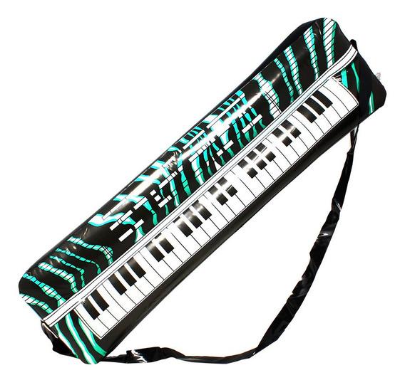 12 Teclado Inflable Pvc Piano Fiesta Animación Batucada Boda