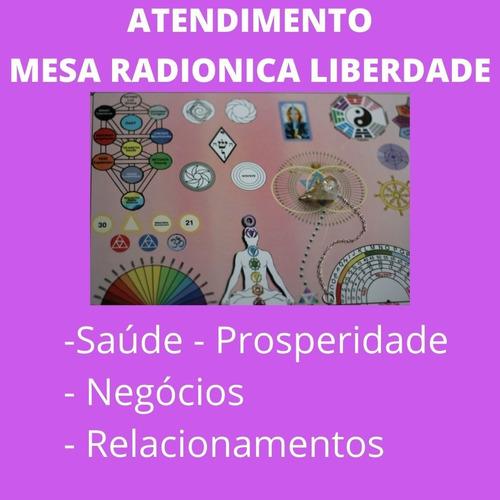 Imagem 1 de 9 de Atendimento Com A Mesa Radiônica Liberdade (arcanjo Miguel)
