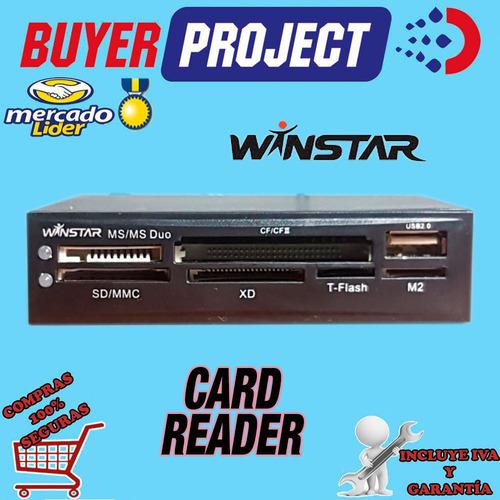 Lector De Memorias Card Reader Interno Todo En 1 Winstar