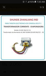 Rebobinamos Transformadores Split Tv Microondas Luces Neon