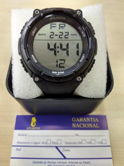 Relógio Original Atlantis Estilo Mormaii Digital Prova D