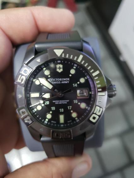 Relógio Suíço Victorinox Dive Master 500 Lindo Zero!!!
