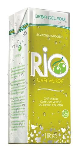 Chá Rio Verde Com Uva Verde 1l