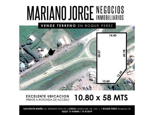 Lote Sobre Ruta Nacional 205 - Roque Perez