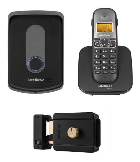 Interfone Sem Fio C Fechadura Trava 300m Intelbras Tis 5010