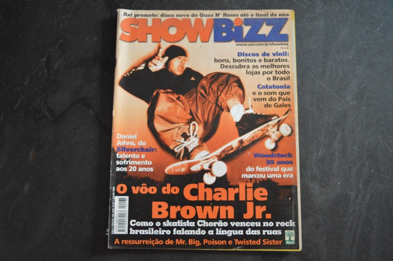 Show Bizz 168 Charlie Brown Jr Revista