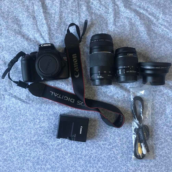Máquina Fotográfica Profissional, Marca Canon Rebel T3