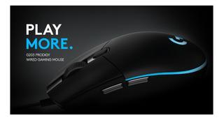 Mouse Gamer Logitech G203 Prodigy Luces Raton Corsair Razer