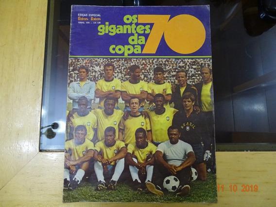 Revista Fatos E Fotos Junho 1970 Especial Copa Futebol R472