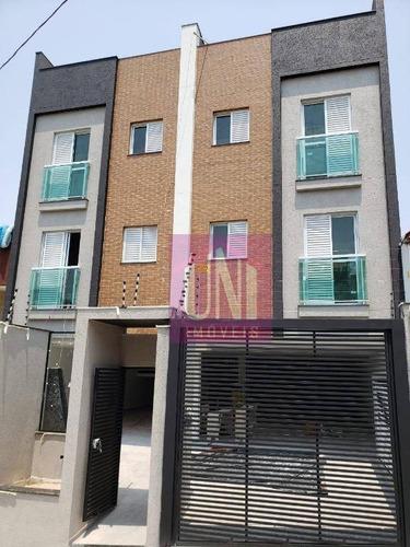 Imagem 1 de 6 de Apartamento Com 2 Dormitórios À Venda, 49 M² Por R$ 255.000,00 - Vila Curuçá - Santo André/sp - Ap2101