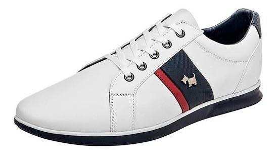 Tenis Ferrioni 0304 Blanco-marino Tallas #25 Al #29 Hombre