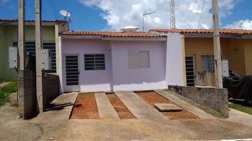 Casa Com 02 Dormitórios No Jd Maria Amélia. - Ca0232