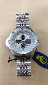 Relógio Atlantis Masculino Ana Digi Original Frete Gratis