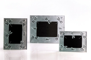 Portaretratos De Cristal Modernos Libélulas 1 Pieza