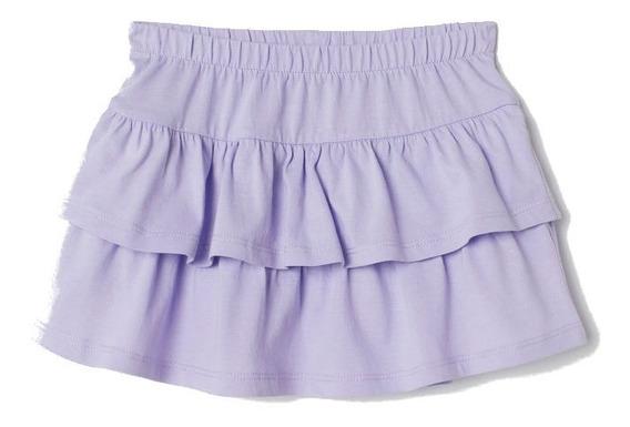 Pollera Mini Nena H&m Algodon Nueva Importada Talle 8-10 Año