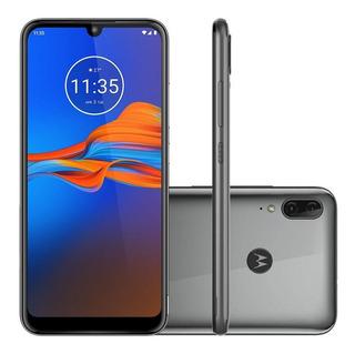 Smartphone Motorola Moto E6 Plus 64gb Metálico 4g