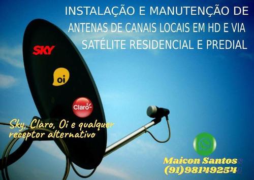 Instalação De Antenas De Tv