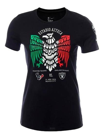 Playera Atletica Nfl City Aztec Mujer Nike Nk196