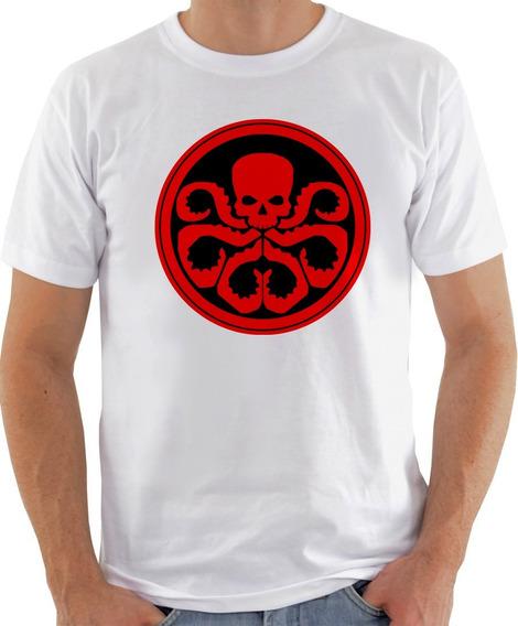 Camiseta Unissex - Hydra Logo Capitão America-631