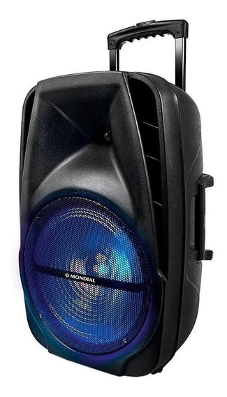 Caixa Som Amplificada Bluetooth Mondial Cm-14 400w P10 Radio