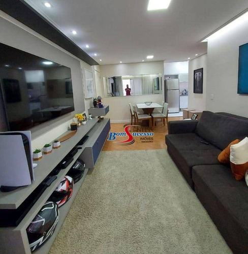 Imagem 1 de 30 de Apartamento Com 2 Dormitórios À Venda, 68 M² Por R$ 570.000 - Tatuapé - São Paulo/sp - Ap3170