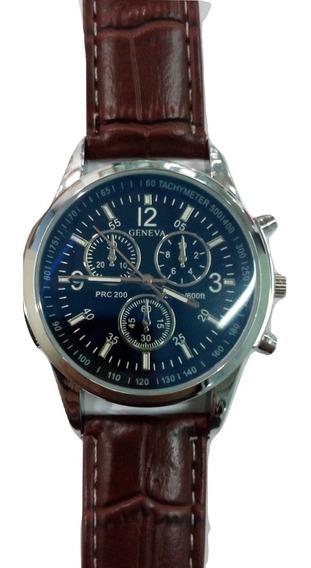 Reloj Fashion Quartz Elegante Caballero Casual Moderno Tiend