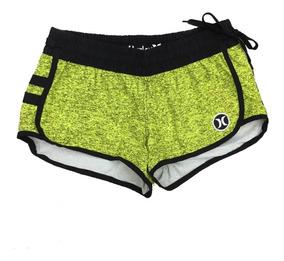 Shorts Feminino Hurley Phantom Original Elastano Impermeável